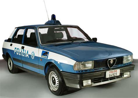 AlfaRomeo in dotazione alla Polizia di Stato Italiana ...