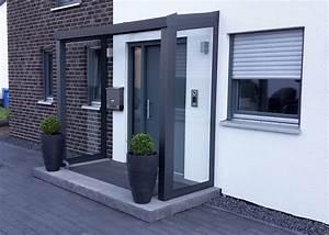 Vordach Glas Mit Seitenteil : alu vordach mit seitenw nde 8mm vsg ~ Watch28wear.com Haus und Dekorationen