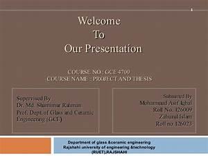 hydroxlyapatite -glass &ceramic dept(ruet)