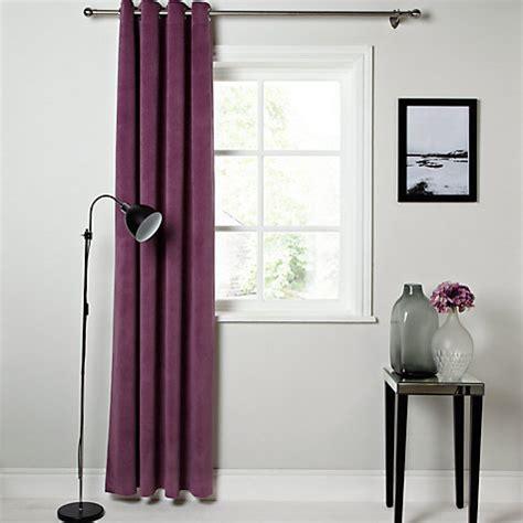 buy lewis erba single panel lined eyelet curtain