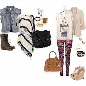 Outfit Inspiration  Artsy Girl #1 I love these outfits because their so different ! The first ...