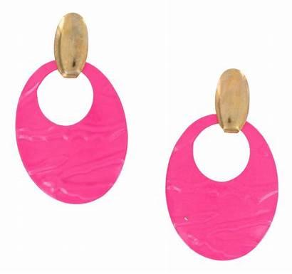 Earrings Earring Clipart Clip Cliparts Stud 80s