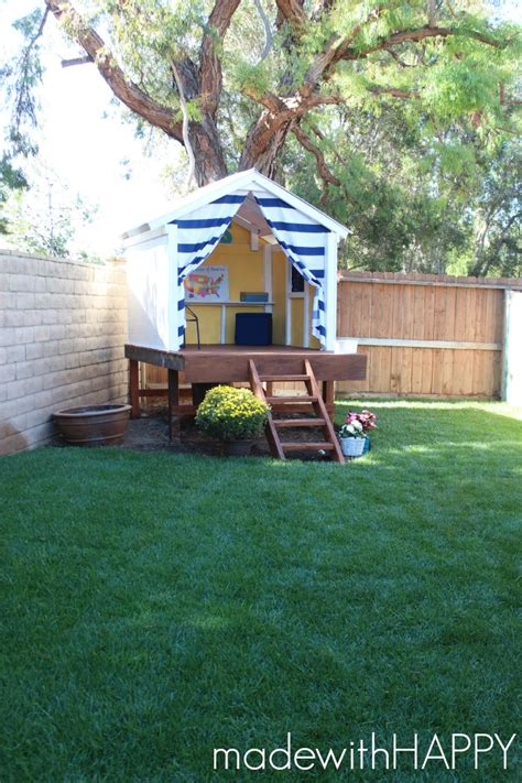 Backyard For Children by Hometalk Diy Treehouse Happy Hideaway To