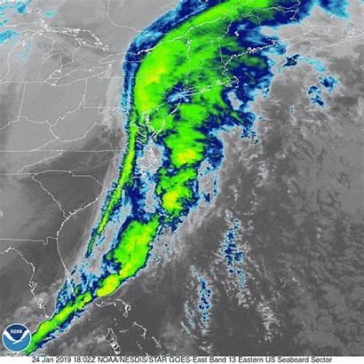 Weather Forecast East Coast Daily Satellite January