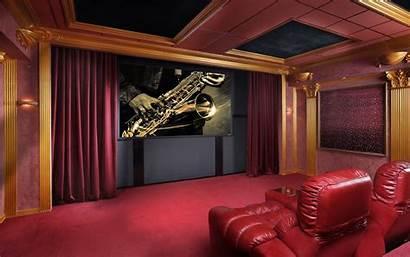 Theater Theatre Cinema Wallpapers Desktop Rooms 4k