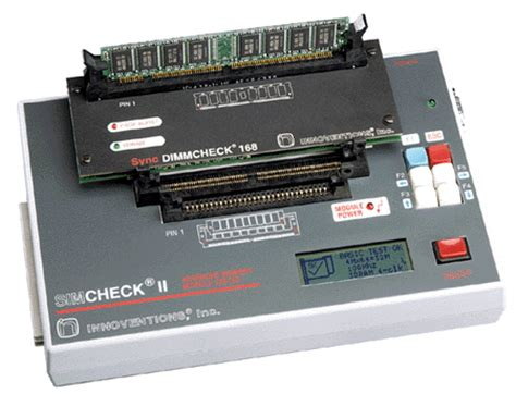 memory test sync dimmcheck 168 adapter for sdram tester