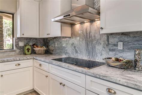 Painted Backsplash Ideas Kitchen - 30 gray and white kitchen ideas designing idea