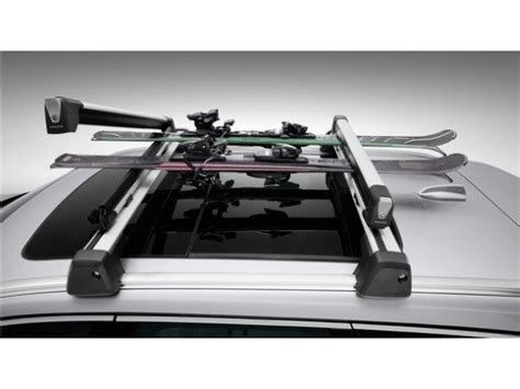 Volvo Ski Rack by Volvo Ski Snowboard Rack Large Capacity