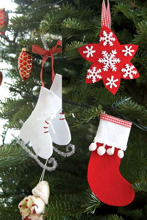 homemade diy christmas ornament craft ideas