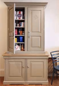 free standing kitchen pantry cabinet painted kitchens bedrooms furniture handmade in - Free Standing Kitchen Pantry Furniture