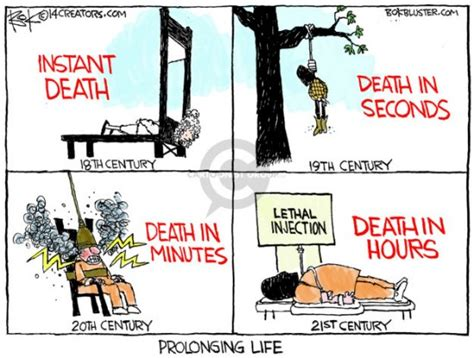 death penalty cartoons prolonging life daily dose of