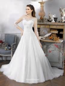 illusion neckline bridesmaid dress vintage organza ballgown wedding dress with illusion neckline groupdress