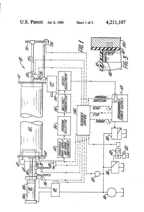 Patent US4211107 - Pipe testing machine with clamping