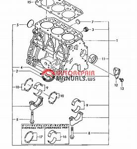 Yanmar Engine 3tn84l-rbs B37 -1  Parts Catalog
