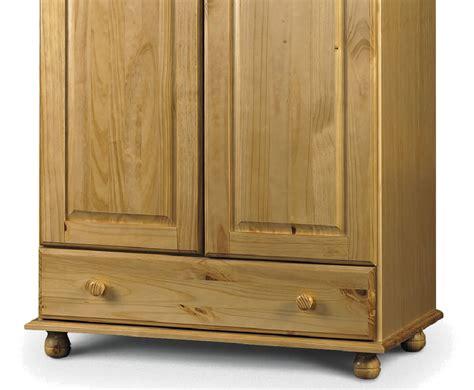 Pickwick 2 Door 1 Drawer Pine Wardrobe Modern Farmhouse Drawer Pulls Under Kitchen Sink Storage Laptop Lock Cash Register Stainless Steel Prep Table With Drawers Howdens Malm K Cups