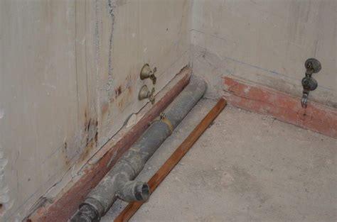 degat des eaux salle de bain 201 vacuation salle de bain