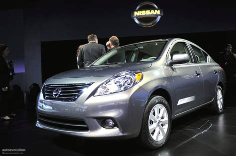Nissan Announces 2012 Versa Us Pricing Autoevolution