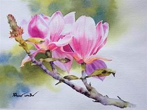 Beautiful Watercolor Paintings Of Flowers | www.pixshark ...