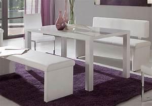 Esstisch Weiß Hochglanz 140 : nando esstisch wei hochglanz 140 x 90 cm ~ Eleganceandgraceweddings.com Haus und Dekorationen