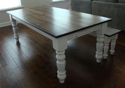 turned leg farmhouse table classic chunky turned leg farm table elegant french