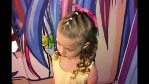 Coiffure Facile Pour Petite Fille : tuto coiffure enfant c r monie facile youtube ~ Nature-et-papiers.com Idées de Décoration