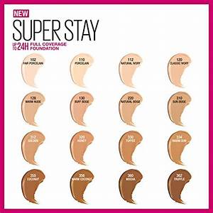» Maybelline Super Stay Full Coverage Foundation ...