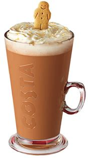 Caffeine in Costa Coffee
