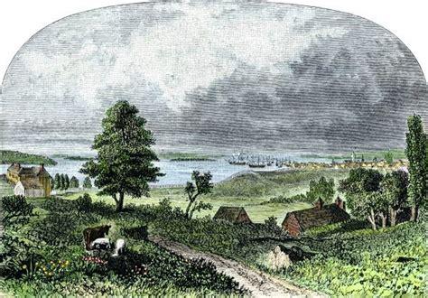 Manhattan Island In The Late 1700s 5884207 Framed Photos