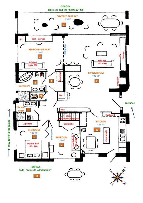 de la maison en anglais plan maison en anglais maison moderne