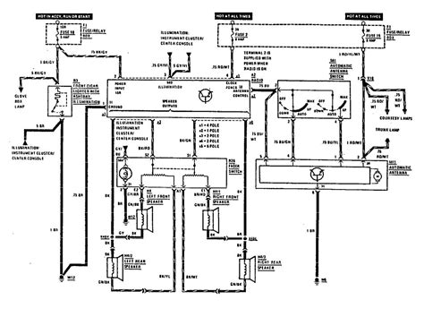 Cucv Electrical Circuit Diagram by Ignition Wiring Diagram For 1988 Mercedes 560sel Wiring