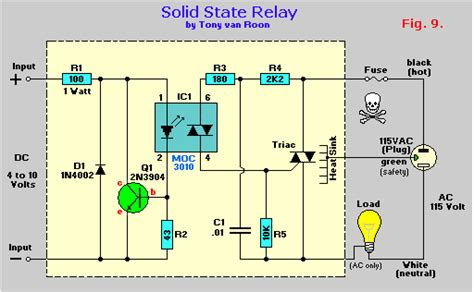 relays and relay drivers tutorial circuit wiring diagrams