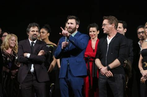 IN PHOTOS: Marvel stars come together for 'Avengers ...
