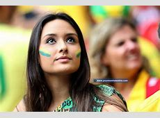 Beautiful Fans of Brazil – World Cup 2014