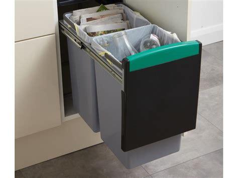 poubelle de tri cuisine comment s organiser pour faire du tri sélectif