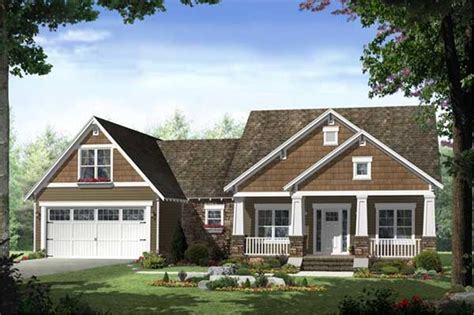 craftsman house plan  bedrms  baths  sq ft