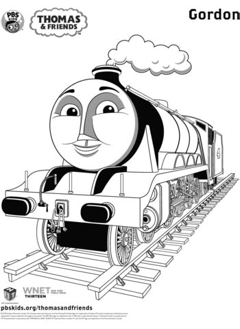 gordon  thomas friends coloring page  printable coloring pages