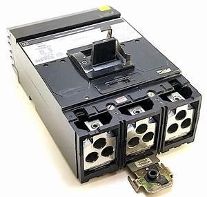 Square D Mh36800 3 Pole 800 Amp 600 Vac Circuit Breaker