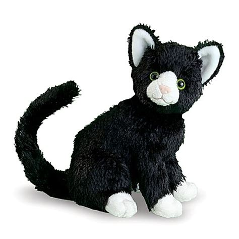 buy melissa doug midnight black cat stuffed animal