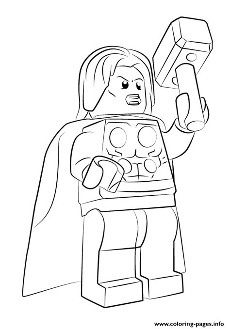 lego marvel coloring pages lego marvel thor coloring pages printable