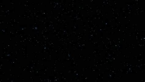 Starfield Time Lapse Falling Star Loop Stock Footage