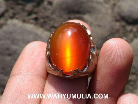 batu chalcedony madu batu cincin raflesia mata kucing bengkulu kode 401