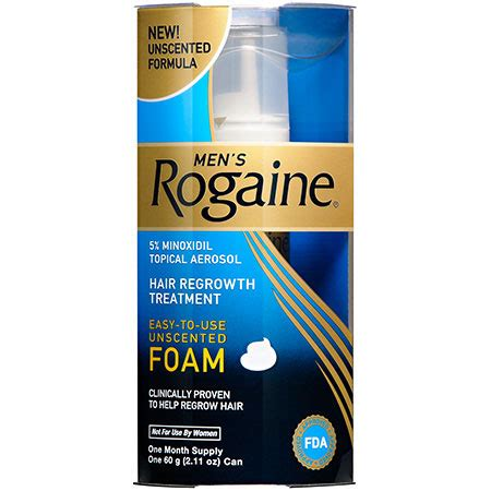 Amazon.com : Rogaine for Men Hair Regrowth Treatment, Easy