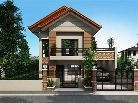 collection  beautiful narrow house design    story floor home  philippines