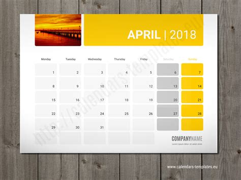 calendar planner template photo desk monthly planner 2018 monthly planner photo planner calendar