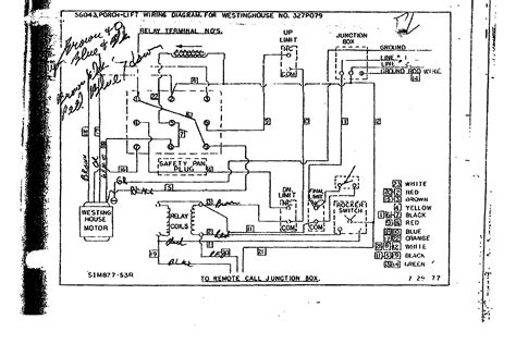 Wiring Diagram Access Industries Porch Lift Within