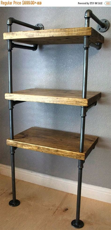 industrial media stand pipe shelving unit