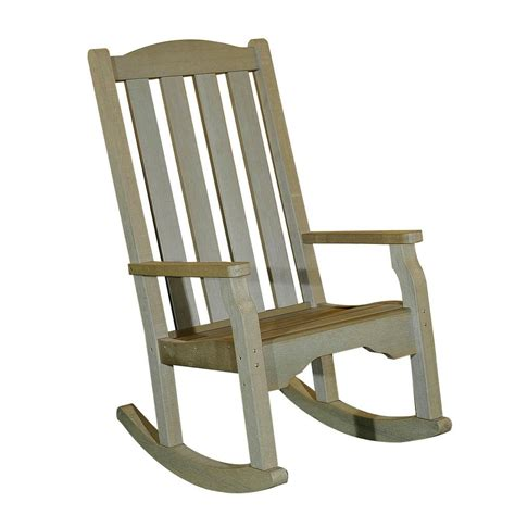 sunjoy greenfield wood outdoor rocking chair 110207014