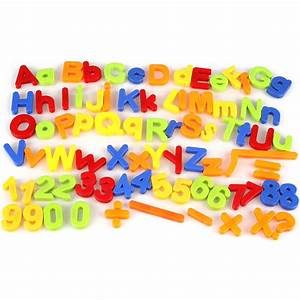 kids magnetic alphabet letter maths number symbol fridge With magnetic letters for toddlers