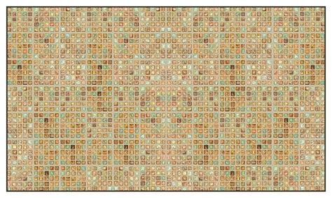 faux glass tile multi wallcoverings multi