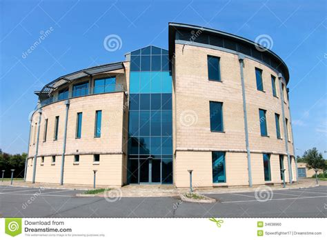 Vacant Modern Office Building Stock Photo  Image 34638960